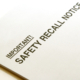 production recalls and your legal rights